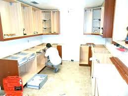 installing kitchen cabinets installing kitchen cabinet hardware