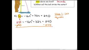 modeling and solving problems with quadratic equations