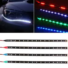 Diy Running Lights Us 1 27 25 Off Cool New 30cm Diy Waterproof Flexible 12v 15smd Led Drl Daytime Running Lights Soft Strips Car Styling Decoration Lamp Light In Car