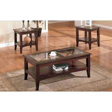 3075 3pc espresso coffee table set espresso coffee tables espresso coffee and end table set