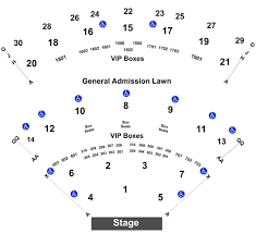 Saratoga Performing Arts Center Seating Chart With Rows Hootie The Blowfish Barenaked Ladies Tickets Sun Aug 4