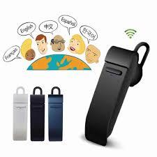Dịch Giả Tai Nghe Không Dây Bluetooth Micro 26 Ngôn Ngữ Dịch Cho Iphone X 7  8 Plus Android MIC Tai Nghe Bluetooth Bluetooth Earphones & Headphones