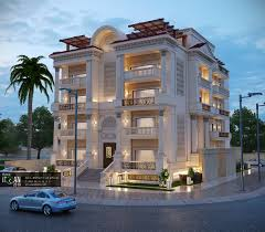 apartment building design. Classic Residential Building Design Apartment