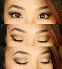 neutral eyes for hooded small lid e monolids makeup for asian
