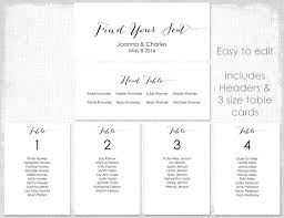 wedding seating plan template free table planner templates ideas round rectangle round table