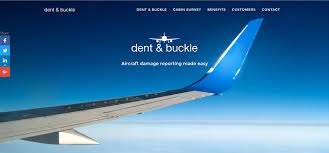 Dent Buckle Streamlined Aircraft Damage Reporting