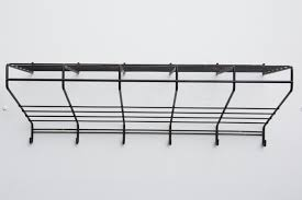 Wire Coat Rack Friso Kramer Black Wire Wall Mount Coat Rack For T' Spectrum 24