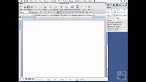Word For Mac Creating New Blank Documents Lynda Com Youtube