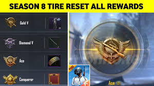 PUBG MOBILE LITE - SEASON 8 TIRE RESET ...