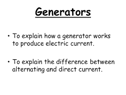 Electric generator how it works Copper Wire Generators To Explain How Generator Works To Produce Electric Current To Explain The Difference Between Alternating And Direct Current Fine Homebuilding Generators To Explain How Generator Works To Produce Electric