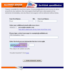 Earthlink orange fist scam blocker