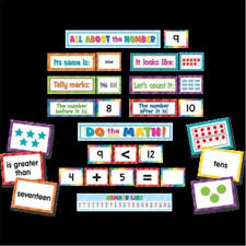 Teacher Created Resources Tcr20847 Numbers Counting Pocket Chart Cards