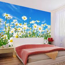 3d daisies fl print wallpaper for wall and 50 similar items jiadou1504588 daisies wallpaper1