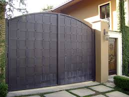 solid metal fence. Solid Iron Gates Metal Fence