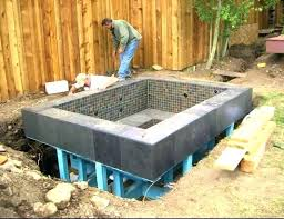 in ground jacuzzi. In Ground Jacuzzi Hot Tub Kits Cost To Install .