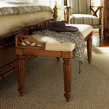 Tommy Bahama Kitchen Table Tommy Bahama Island Estate Plantain Bed Bench Bedroom Benches At