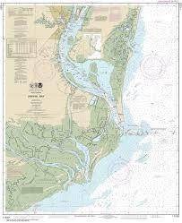 Estero Bay Depth Chart 11532 Winyah Bay East Coast Nautical Chart