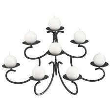 chandelier style fireplace candelabra holds 7 candles