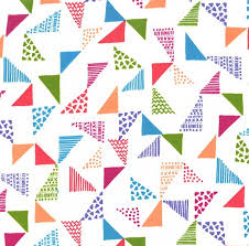 Image result for wide back fabric triangles