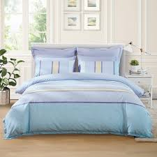 navy blue yellow and aqua nautical stripe and flower print contemporary modern chic ombre full queen size bedding sets