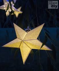 DIY Paper Star Lanterns (Beautiful!)