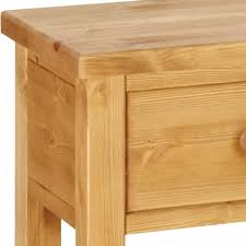 pine console table. Lovely Pine Console Table With Drawer Wessex