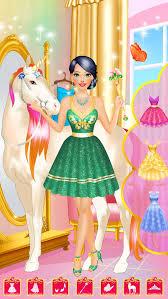 magic princess makeup makeover and dress up games for s screenshot 4