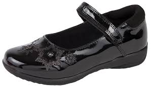 disney frozen black school shoes flashing light up faux leather mary jane size