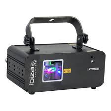 Ibiza Light Ibiza Light Blue Graphic Laser 80mw Dmx Lighting Effect Disco Dj Inc Remote