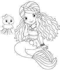 free coloring pages of mermaids. Beautiful Coloring Fairy And Mermaid Coloring Pages Free The Little  To  With Free Coloring Pages Of Mermaids R