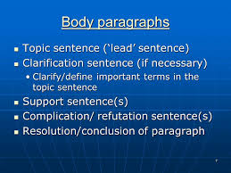 how to write geography essays ppt video online  body paragraphs topic sentence lead sentence