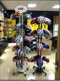 Motorcycle Display Stand Bike Helmet Storage Bike Helmet Rack High Quality Free Standing 78