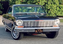 All Chevy black chevy nova : Driving Impressions: 1964 Chevrolet Chevy II Nova SS | Hemmings Daily