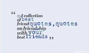 Short Quote About Friendship short best friend quotes quotes 78