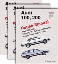 audi repair manual audi 100 200 1989 1991 bentley publishers 100 200 1989 1991 repair manual