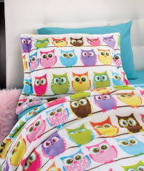 Best 25+ Twin size blanket ideas on Pinterest | Minecraft blanket ... & Hoot owl 2-pc. twin size blanket comforter & sham set kid teen bedroom bed  decor Adamdwight.com