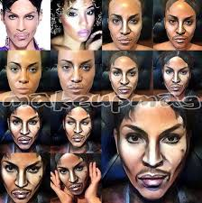 makeup artist magali metis transforms herself into famous ians pictured prince