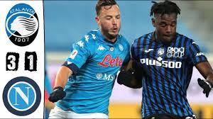 Atalanta - Napoli 3-1 Highlights | Coppa Italia - 2020/21 - YouTube