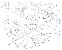 toro professional 74200 z252 z master 1998 sn 890001 899999 electrical system