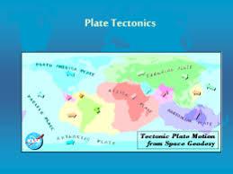 essay on plate tectonics