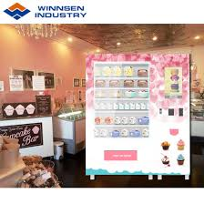 Cupcake Vending Machine For Sale Stunning China Hot Sale Multi Languages Cupcake Vending Machine Supplier