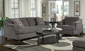 White Furniture Living Room Decorating Living Room Gray Recliners White Shelves Brown Chairs Gray Sofa