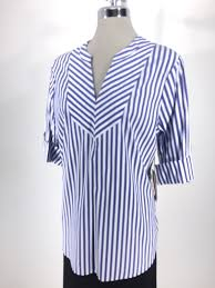 24 15 Ivanka Trump New Wt Beautiful Blue White Stripes