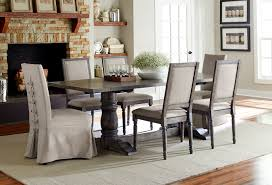 Progressive Dining Room Scene P836 10 60 Slipcovered and 65 Dining Chair 1