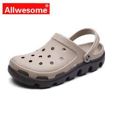<b>Allwesome</b> Croc <b>Shoes</b> Beach Clogs Massage Slippers Flip Flops ...