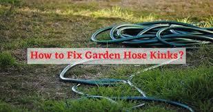 how to fix garden hose kinks