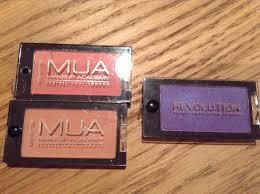 mua makeup revolution packaging parison similar or no