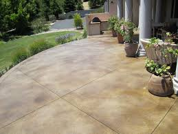 Stained concrete patio Beautiful Acid Stained Concrete Patio Home Decor Different Types Of Stained Concrete Patio Home Decor
