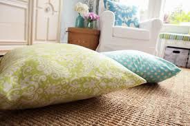 Outdoor enormous floor pillows