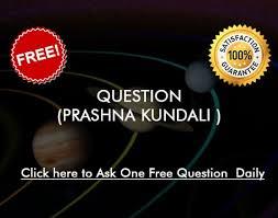 Prashna Kundali Ask A Question Free Astrology Online